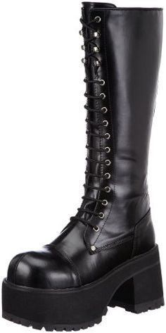 Introducing Pleaser Mens Ranger 302 LaceUp BootBlack PU10 M US. It is a great product and follow us for more updates!