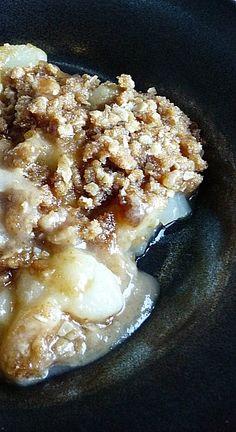 Brown Butter Pear Crisp | Baking Blond