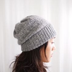 Simple Pleasures Hat pattern by Purl Soho.