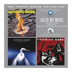 "L'album dei #FaithNoMore intitolato ""The Triple Album Collection"" su triplo CD."
