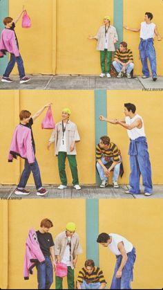 Suho, Chen, Kai, Chanyeol - 190911 Fourth official photobook 'PRESENT ; the moment' Credit: luvfor_m. Chanyeol Baekhyun, Kpop Exo, Exo Chanyeol, Kai, Exo For Life, Exo Group, Exo Album, Exo Concert, Exo Lockscreen