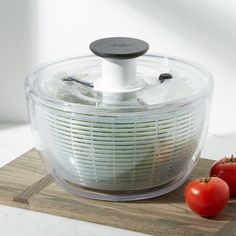 Shop Crate and Barrel Canada for high-quality colanders, strainers and salad spinners. Crate And Barrel, Best Salad Spinner, Food Storage Containers, Kitchen Essentials, Cooking Tools, Kitchen Gadgets, Kitchen Stuff, Kitchen Tools, Kitchen Things