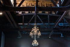 Kaila Cales Photography Wedding Locations, Wedding Venues, Rental Space, Urban Industrial, Event Venues, Unique Vintage, Warehouse, Reception, Ceiling Lights