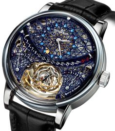 Jaeger-LeCoultre Hybris Artistica Master Gyrotourbillon | Raddest Men's Fashion Looks On The Internet: http://www.raddestlooks.org Cool Watches, Casual Watches, Watches For Men, Japanese Food, Jaeger Lecoultre, Men's Fashion, Master, Luxury Watches, Clocks