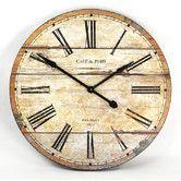 """Found it at Wayfair - 32"""" Wooden Clock"""