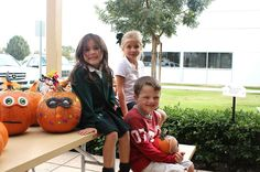St. Francis School Children and Families, Pumpkin Delivery to Pediatrics, 2012