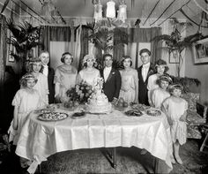 "Washington, D.C., circa 1921. ""Scalco, National Fruit Co."" Salvatore Scalco, the groom, was company president. junipergallery Fine-Art Prints by Juniper Gallery"