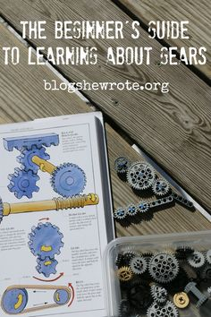 The Beginner's Guide to Learning about Gears Mechanical Engineering Design, Engineering Projects, Stem Projects, Science Projects, Lego Projects, Civil Engineering, Preschool Science, Science Lessons, Science For Kids