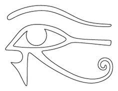 Eye of Horus Pattern