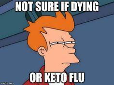 minimizing keto flu