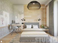 sypialnia w barwach natury - zdjęcie od MIKOŁAJSKAstudio - Sypialnia - Styl…