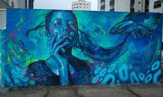 """Day dreamer"" by Valdi Valdi street art"