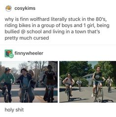 •I REALIZED THIS WHILE WATCHING IT I WAS LIKE THIS HAS SO MANY PARALLELS TO STRANGER THINGS NO WONDER FINN IS IN IT•