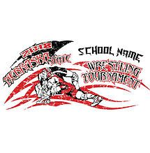 Wrestling state tournament apparel orders ready as early for High school wrestling t shirt designs