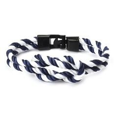 Rope Infinity Bracelet Charm Jewelry Charm Jewelry Outfit Accessories From Touchy Style Hook Bracelet, Paracord Bracelets, Bangle Bracelets, Bangles, Anchor Bracelets, Cheap Bracelets, Bracelets For Men, Fashion Bracelets, Hand Chain