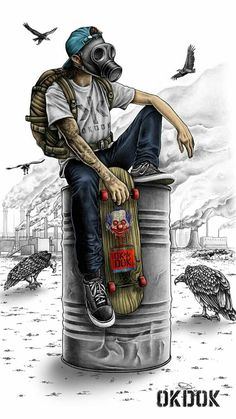 Mens Style Discover Skate Toxic wallpaper by sampa_star - - Free on ZEDGE Graffiti Art Graffiti Wallpaper Artistic Wallpaper Graffiti Tattoo Arte Dope Dope Art Joker Wallpapers Gaming Wallpapers Iphone Wallpapers Graffiti Art, Graffiti Wallpaper, Artistic Wallpaper, Graffiti Tattoo, Gas Mask Art, Masks Art, Arte Dope, Dope Art, Joker Wallpapers