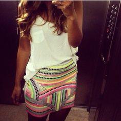 Cute & fun summer outfit!