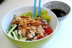 funnypilgrim: Rezept: Vietnamesischer Nudelsalat