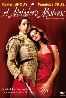 """Adrien Brody is one of those actors that you don't typically think of when you consider heartthrobs. However, he certainly has appeal, beside the fact he is a phenomenal actor. He's played many superb roles, but I especially adore him in """"A Matador's Mistress"""". True story of this Matador's (Manolete) short life, and the heart-wrenching romance with Lupe Sino (Penelope Cruz). He is soft-spoken, and puppy-dog stricken with her. It is sad to watch, but he plays it so well."""
