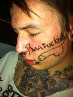 Just, you know, making fun of him while he's passed out lol #JamesCassells <3
