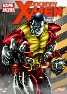 #Colossus #Fan #Art. (COLOSSUS) By: VAXION. (THE * 5 * STÅR * ÅWARD * OF: * AW YEAH, IT'S MAJOR ÅWESOMENESS!!!™)[THANK Ü 4 PINNING<·><]<©>ÅÅÅ+(OB4E)
