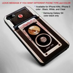 Vintage Kodak Duaflex IV camera iPhone 5 BLACK