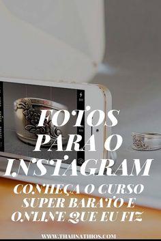 Fotos para o Instagram O Instagram a cada dia mais cresce e muita gente sente dificuldades em produzir conteúdo relevante,... E Online, Blog Tips, Social Media Marketing, Digital Marketing, Instagram Marketing, Tumblr Girls, Online Business, Life Hacks, Internet
