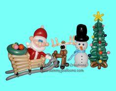 Santa's sleigh is full of toys, for good girls and boys! www.sammyjballoons.com Christmas Balloons, Santa Sleigh, Balloon Decorations, Cool Girl, Party Ideas, Toys, Girls, Holiday, Design