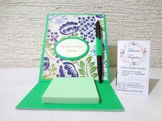 Porta post-it, ideal para dar como regalo o recuerdo para tu evento. http://lauratarjetas.wix.com/laura-tarjetas#!cajas-y-bolsas/c2482