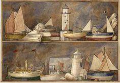 Trapantojo - marisa leon - Picasa Web Albums Nautical Prints, Nautical Art, Boat Lights, Devian Art, Borders For Paper, Digi Stamps, Kitchen Art, Miniatures, Sea