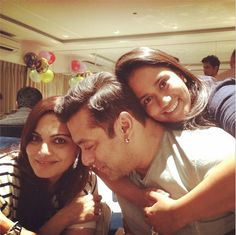 Aww! Salman's baby sister Arpita can't get over her bhai. (Source: Instagram)