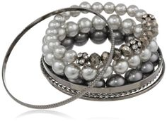 Simulated Tonal Grey Pearl and Crystal 7-Piece Bracelet Set Amazon Curated Collection,http://www.amazon.com/dp/B00BDHI3W6/ref=cm_sw_r_pi_dp_2Mizsb09CM4DW133