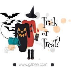 Trick or treat? by stylecapital on Polyvore featuring Gianvito Rossi, Casetify, OPI and Halloween