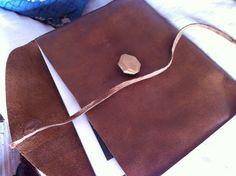 My new leather iPad case