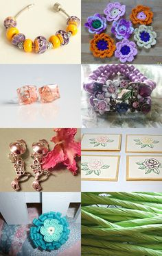 Flower and spring love by Jayme Dye on Etsy--Pinned with TreasuryPin.com