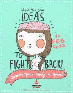 Fight Back | By Ellena Eka Rahendy - One Billion Rising Indonesia