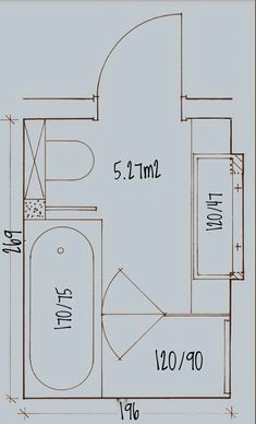 Das kompakteste Badezimmer mit allem Das kompakteste Badezimmer mit allem - Most compact bathroom with it all Most compact bathroom with it all Das kompakteste Badezimmer mit allem Das kompakteste Badezimmer mit allem Rustic Master Bathroom, Master Bathroom Layout, Modern Bathroom Tile, Bathroom Floor Plans, Tiny House Bathroom, Bathroom Renos, Bathroom Interior Design, Small Bathroom With Bath, Compact Bathroom