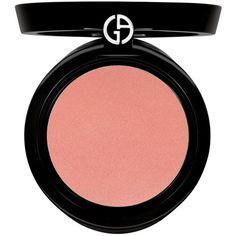 Armani Cheek Fabric (640.200 IDR) ❤ liked on Polyvore featuring beauty products, makeup, cheek makeup, blush, beauty, 34. foundation & blush., cosmetics, giorgio armani blush, powder blush and giorgio armani