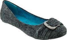 Blowfish Panni women's casual (Grey Soft Herringbone Flannel) - Planet Shoes $34