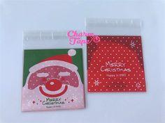 Festive Santa Claus Gift Bags Cello Self-adhesive Cookie bags - Favors Bags 20/50/100 bags CB51