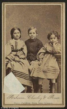 Slave children of New Orleans 1863