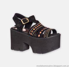 Moda sandalias verano 2015 Hoku Shoes. Top Shoes, Wedge Shoes, Shoes Sandals, Shoes Sneakers, Dress Shoes, Pretty Shoes, Cute Shoes, Me Too Shoes, Types Of Sandals