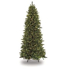 Found it at Wayfair - 7.5' Green Slim Artificial Christmas Tree with 500 Clear Lights with Stand
