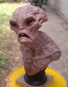 Old alien. by BOULARIS.deviantart.com on @deviantART