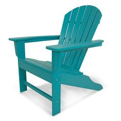 Polywood® South Beach Bright Outdoor Adirondack Chair,