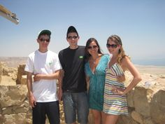 Fort Masada in Israel was so interesting.  In the background you can see the Dead Sea.