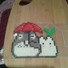 Totoro perler beads by Eleka Peka