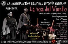 """Utopía Urbana celebra 200 representaciones de la obra """"La voz del viento"""""""