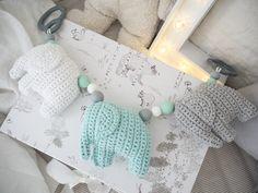 virkattunorsuvaunulelu Baby Art, Knitting For Kids, Future Baby, Kids And Parenting, Handicraft, Baby Love, Dinosaur Stuffed Animal, Crochet Necklace, Toys