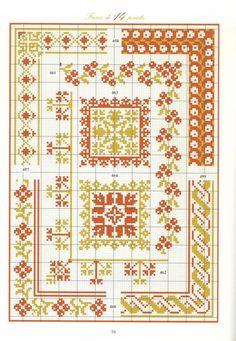 Gallery.ru / Фото #54 - 856 - Yra3raza Cross Stitch Boarders, Cross Stitch Sampler Patterns, Cross Stitch Rose, Cross Stitch Samplers, Cross Stitch Designs, Cross Stitching, Cross Stitch Embroidery, Embroidery Patterns, Cross Stitch Patterns